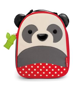 Look at this Skip Hop Gray & Red Panda Lunch Bag on #zulily today!