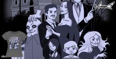 T-shirts - Design: Family Portrait - by: Ursula Lopez