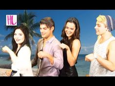 'Teen Beach Movie': The Stars Reveal Their Biggest Disney Crushes - YouTube