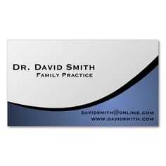 Blue Curves Dental Care Appointment Business Card  Dental