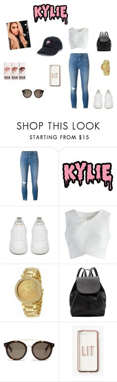 """Kylie."" by joanaaguas2002 on Polyvore featuring J Brand, KRISVANASSCHE, Golden Goose, Chicwish, Justin Bieber, Michael Kors, Witchery, STELLA McCARTNEY, Missguided and kardashians"