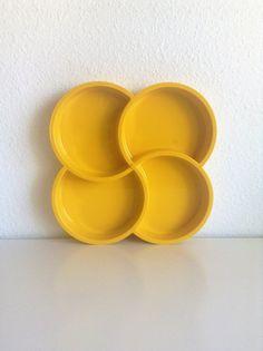 Vintage Pinwheel Serving Tray, Gunnar Cyren for Dansk Design