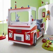 le camion rouge qui fait rêver et même dans son lit on y pense