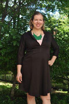 Creative Counselor: Dakota Shawl Collar Dress