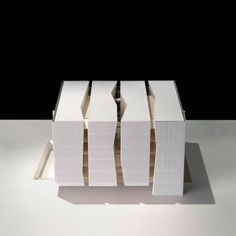 © chyutin architects - fashion and art graduate school - tel aviv, israel - 2011, architectural model, maqueta, modulo