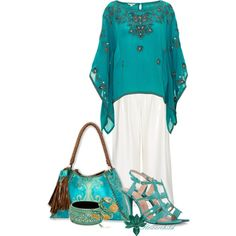 Kaftan Bliss - Contest, created by flowerchild805 on Polyvore