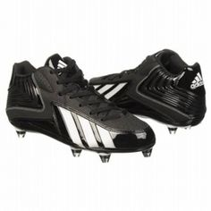 SALE - Adidas EC1303685 Football Cleats Mens Black Leather - Was $70.00 - SAVE $7.00. BUY Now - ONLY $63.00
