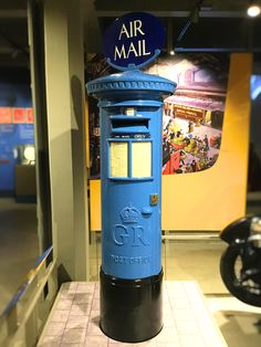 This colour scheme remained in use until 1939. This post box can be seen in the Post Office Museum, London London History, Diesel Punk, Post Box, Post Office, Color Schemes, Museum, Colour, R Color Palette, Color