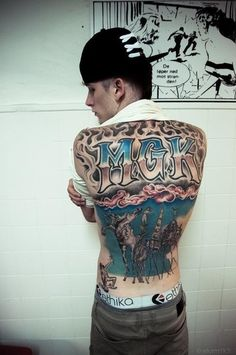 machine gun kelly tattoos - photo #19