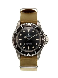 Vintage Watches Rolex Oyster Perpetual Submariner Watch (c. 1985)  - A GREAT LOOK