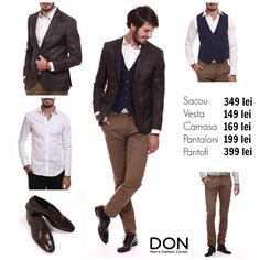 Shop The Look - 1.139 lei don-men.com #shopnow #affordable #prices