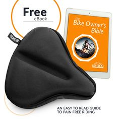 Bikeroo Extra Large Exercise Bike Seat Cushion - inches x 12 inches) Soft Bike Gel Saddle Cover - Bicycle Wide Gel Soft Pad - Most Comfortable XXL Bicycle Saddle Cover for Women and Men Saddle Cover, Bike Seat, Cycling Equipment, Seat Cushions, Image Link, Bicycle, Exercise, Note, Amazon
