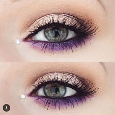 Gorgeous eye makeup idea