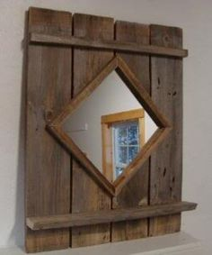 Going to make some of theses today barnwood mirror