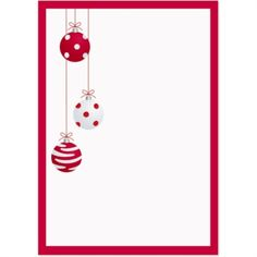 Christmas Ornaments Speciality Holiday Invitations | from PaperDirect
