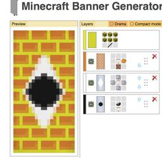 Bill cypher minecraft banner design