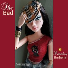 Delancey rocking a paperboy cap Barbie I, Burberry Prorsum, Make Up, Scene, Fashion, Top Luxury Brands, Makeup, Bag, Moda