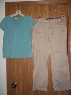 In Due Time Top Small Old Navy Maternity Pants Khaki 8 in Clothing, Shoes & Accessories, Women's Clothing, Maternity | eBay