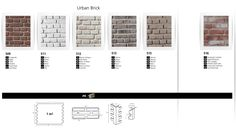 Over 55 options of FAUXBRICK Wall Boards to choose from TAKE A LOOK!!