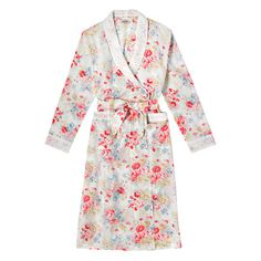 Spring Bouquet Broderie Detail Dressing Gown | Cath Kidston |