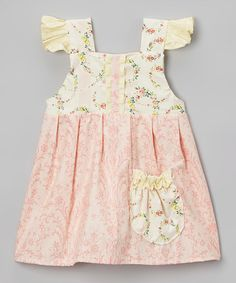 Look what I found on #zulily! Pink Pocket Kelly Jumper - Infant & Toddler #zulilyfinds