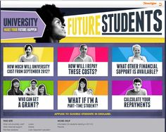 Department for Business Innovation Skills campaign promotes student microsite