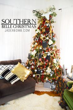 Southern Belle Christmas Tree – Michaels Dream Tree Challenge 2015