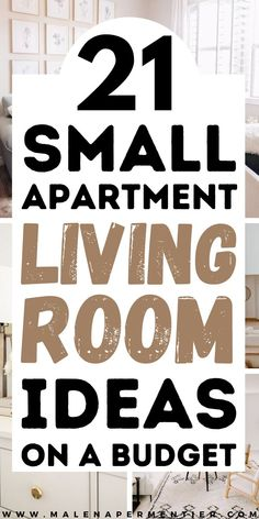 21 cozy and neutral small apartment living room ideas on a budget. Here you find layout ideas, wall decor inspo, renter-friendly hacks, storage ideas, and all the decor & furniture inspiration you need for a small living room. Small Apartment Living, Living Room On A Budget, Small Living Rooms, Small Apartments, Living Room Decor, Living Room Inspiration, Furniture Inspiration, White Rooms, Affordable Home Decor