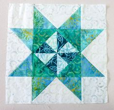 Spectrum Quilt-A-Long 2020 Block 1 - QUILTsocial Blue Armchair, First Blog Post, Half Square Triangles, Bed Runner, Flying Geese, Stitch 2, How To Make Bed, Pinwheels, Design Your Own