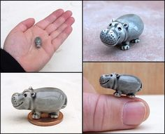Micropotamus. by *Hippopottermiss. Ceramics, Pottery & Clay.