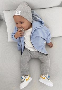 Cute Baby Boy Outfits, Cute Baby Clothes, Toddler Outfits, Baby Boy Fashion, Toddler Fashion, Kids Fashion, Cute Little Boys, Foto Baby, Best Baby Shower Gifts