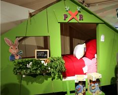 Peter Rabbit Kids Room Idea OMG I want this...lol...and bedding!