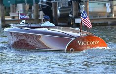Victory a 1950 Chris Craft Racer Wakeboarding, Chris Craft Wooden Boats, Wooden Speed Boats, Runabout Boat, Classic Wooden Boats, Wooden Boat Building, Boat Fashion, Boat Projects, Vintage Boats