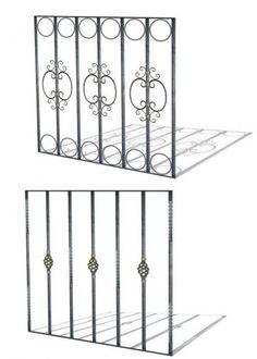 Reja artistica de hierro cuadrado masizo tes window and - Rejas para balcon ...
