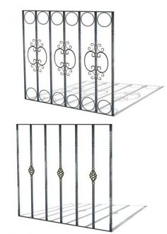 Home Window Grill Design, Wrought Iron Doors, Railing Design, Iron Windows, Cool House Designs, Window Prices, Grill Door Design, Stair Railing Design, Steel Design