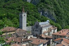 Gemona (cathedral, town rebuilt after the Friuli earthquake)- Gemona del Friuli