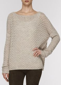 Mini Cable Knit Sweater