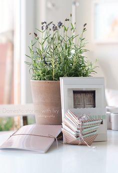 lavender / lavanda / lavander    Super wonderful Nina Holst's order from our etsy shop New Ivy style  ~