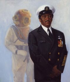 "HappyBirthday to Master Diver Carl M. Brashear! Born in 1931 - 2006. Brashear had dreams of becoming a US Navy Diver despite the many obstacles that would be in his path. Brashear's integrity, accountability, initiative, and toughness were essential in his becoming a Salvage Diver at the U.S. Navy Diving School in Bayonne, N.J., and beyond. -""Requiescant in Pace"""