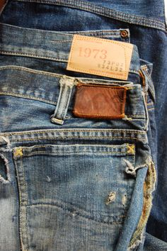 Raw Denim, Blue Denim, Denim Jeans, Mood Indigo, Outfit Grid, Lee Jeans, Vintage Denim, Jean Outfits, Denim Fashion