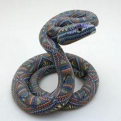 polymer clay snakes