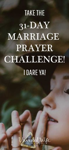 Do you desire for your marriage to be centered on God. Do you desire to see your spouse on fire for Christ. It starts with prayer. Take the 31-day challenge today.  CLICK HERE -> Unwf.co/prayer-challenge