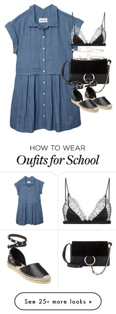 """Untitled #1959"" by sophiasstyle on Polyvore featuring Olive + Oak, Sarah Chloe, Ash and Maison Close"