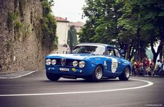 Alfa's greatest trait - handling. Just one of the reasons I loved driving Alfas.