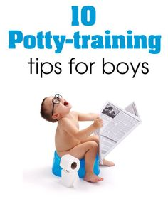 If your a mom to boys, you know how difficult potty training can be. Here are my 10 best potty training tips for boys that will make the process a little easier for both mom and son! www.prettymyparty.com.