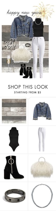 """""""Happy New Years"""" by kiara-tuggle ❤ liked on Polyvore featuring Barbour International, Off-White, Bling Jewelry and Krosno"""