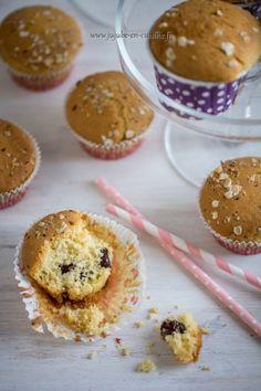 Muffins aux cranberries (airelles ou canneberges)