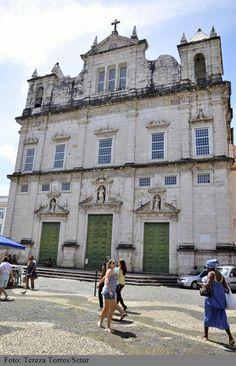Basílica da Conceição da Praia, no Centro Histórico de Salvador.