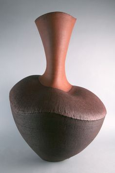 Cecilia Colman Gallery   Title:  Red Pepper Pot  Description: Ceramic Stonware  Artist: Wendy Hoare
