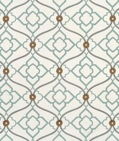 Portfolio Zuma Grotto Fabric - LOVE this graphic since it's a bit softer than many are.  GREAT colors